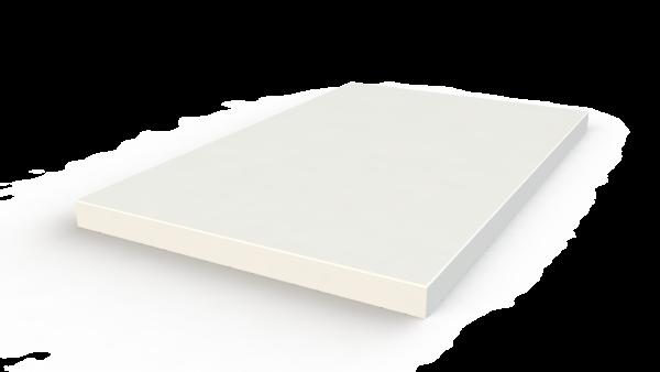 Доска разделочная белая 15х220х350 мм, вес 1,06 кг