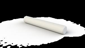 Скалка для раскатки теста, Д=80мм, длина 40 см, вес 1.9 кг