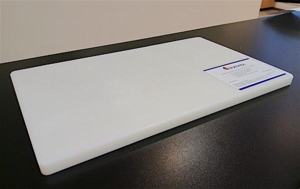 Профессиональная разделочная доска из полипропилена «ТРИОТЕК» 15*300*500 мм